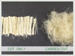 Cut Only and Carded/Cut Fibers